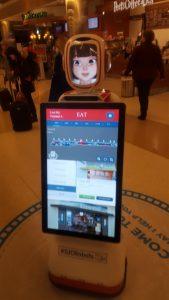 01-15-16 Robot at the San Jose Airport (Medium)